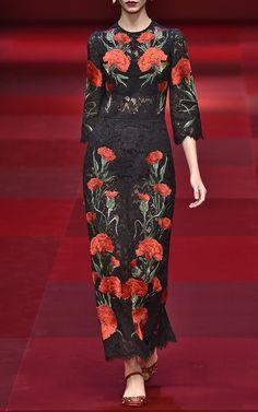 Dolce & Gabbana Spring/Summer 2015 Trunkshow Look 81 on Moda Operandi