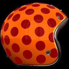 Ruby Pavillon Costume Polka Lacquered Orange/Red