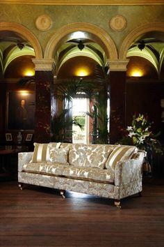 Cushion Back Grand Sofa