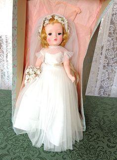 Madame Alexander Binnie Bride from cynthiahenry on Ruby Lane