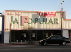 LA Popular Furniture Store Was There Since The But Now The Building Is For  Lease.