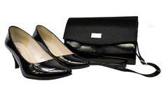 Wygodne niskie czółenka lakierowane. Czarne lakierki Roseti. Zestaw czarny buty i torebka Salvatore Ferragamo, Flats, Shoes, Fashion, Loafers & Slip Ons, Moda, Zapatos, Shoes Outlet, Fashion Styles