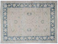 "#16162 Origin:Afghanistan Design:Geometric Size:8' 6"" x 11' 3"" Sqft:94.69′ Color:Blue"