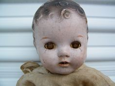 Creepy Doll / Collectable Doll / Composition / by assemblage333, $24.00