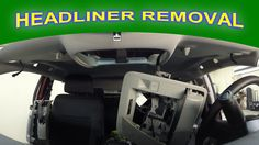 How does a headliner get removed for hail damage repair? See in this video how we remove the headliner from this truck for paintless dent repair.  #haildamagerepair #paintlessdentrepair