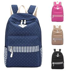 10091c3e10c Backpack Women Fashion 2016 Canvas Leisure Travel Bag Korean Backpacks for  Teenage Girls School Bags Brand