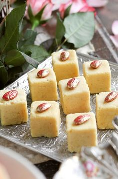 It's not that you are an idiot.but Mani Govindsami just asked for a bloke's version that even an idiot could do! Here is a simple recipe for Burfee… Almond Burfee Ingredients: Wh… Indian Dessert Recipes, Sweets Recipes, Snack Recipes, Diwali Recipes, Indian Recipes, African Recipes, Snacks, East Indian Food, Indian Sweets