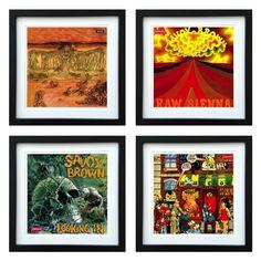 Savoy Brown | Framed Album Art Set of 4 Images | ArtRockStore