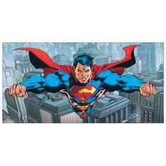 DC COMICS - Flying over Metropolis 100x50 cm #artprints #interior #design #art #print #cartoon  Scopri Descrizione e Prezzo http://www.artopweb.com/categorie/cartoni/EC21903