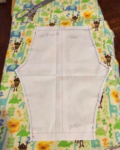 First Time Mom and Losing It: DIY Toddler Flannel Pajama Pants #Tutorial