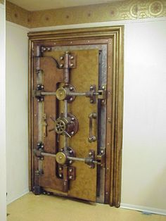 Old Vault Door for Home Safe