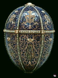 Faberge Blue Egg.
