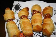 Halloween Food Mummies.