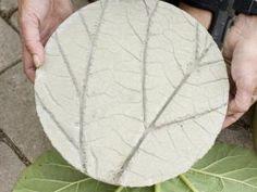 DIY } Jardin : de jolis pas japonais en ciment