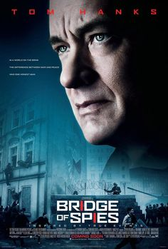 """Bridge of Spies"" (2015). Country: United States. Director: Steven Spielberg. Cast: Tom Hanks, Mark Rylance, Amy Ryan, Alan Alda, Scott Shepherd, Sebastian Koch"