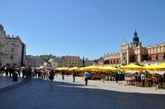 Cracovia-Plaza del Mercado (foto de corinne cavallo)