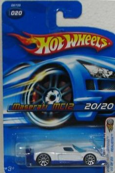 2005 First Editions Realistix Maserati MC12 -#20 10 Spoke Wheels #2005-20 Collectible Collector Car Mattel Hot Wheels 1:64 Scale by Mattel. $19.77. Great Investment For Any Hot Wheels Collector.. Fun For All Ages! Serious Collectors And Kids Alike!. A Perfect Addition To Any Hot Wheels Collection!. Perfect Hot Wheels Diecast for every collector!. Diecast Metal Hot Wheels Car Perfect For That Hot Wheels Collector!. 2005 First Editions Realistix Maserati MC12 -#20 10 Spoke Wheels ...