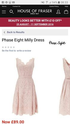 11. September, House Of Fraser, Phase Eight, Beauty, Dresses, Vestidos, Dress, Beauty Illustration, Gown
