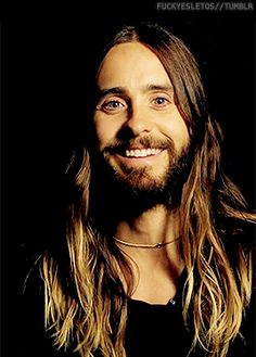 Jared Leto #MARSgif. Him being happy makes me happy