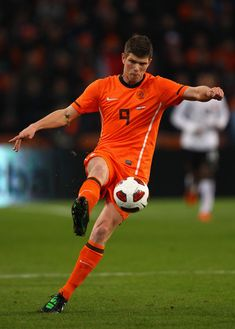 Klaas-Jan Huntelaar Netherlands Football star
