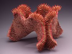 Unusual Pencil Sculptues by Jennifer Maestre | Ami Dolling