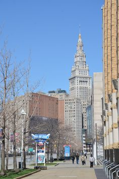 Cleveland does a fine job of combining old with new in its cityscape