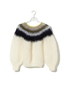 Maiami - Pleated Sweater Gradient