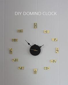 DIY domino clock