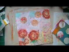 Telling the Bees - An Art Journal Page - YouTube