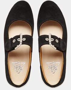 Image 3 of YRU Chill Mary Jane Flat Shoes