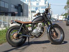 Suzuki gn250 bratstyle.