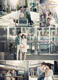 Korean Wedding Photography Concepts // Dating Snaps – Check-in at your Destination Wedding Pre Wedding Shoot Ideas, Pre Wedding Poses, Pre Wedding Photoshoot, Bridal Shoot, Wedding Pictures, Wedding Dress, Korean Wedding Photography, Bridal Photography, Couple Photography