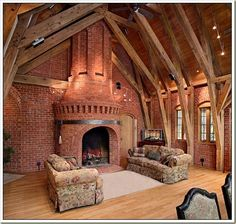 Probably a bit too much as fireplaces go, but damn!