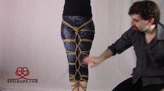 Beginner | Rope Bondage Tutorial: Basic Hishi (Diamond) Leg Tie