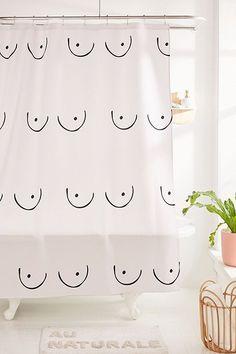Natalie Catalina For Deny Boobs Shower Curtain