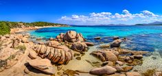 Sardinia. Not a typical destination for a lot of tourists, but it may be worth a visit.  #sardinia #whytravelitaly #italy #beaches