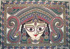 Mithilaa Painting it's one of Indian Foam of Art aka madubani
