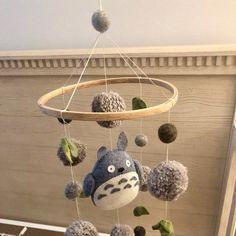 eymayshop shared a new photo on Etsy Totoro Nursery, Deer Nursery, Whale Nursery, Nursery Crib, Elephant Nursery, Elephant Baby, Baby Mobile Felt, Felt Baby, Cactus Rock