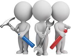 vocabulario: (verbo 3) arreglar - Ordenar, poner en orden; Reparar algo roto o que no funciona