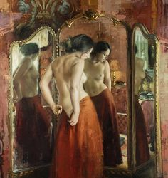 Fine Art Connoisseur - Jeremy Mann, Women, And The City