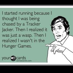 Hunger games! Just like twilight, it'll take me a year or two to get hook with what Hunger Games is all about. :)