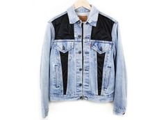 Crossbones Romance Denim Jacket Outerwear  - Spikes and Seams