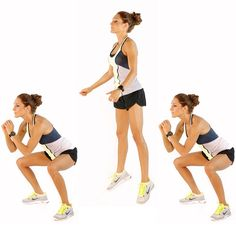 Squats With Jump in Air