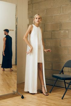 look 18 Rosetta Getty Spring 2016 Ready-to-Wear Collection Photos - Vogue Look Fashion, Runway Fashion, Spring Fashion, High Fashion, Fashion Show, Womens Fashion, Fashion Design, Look Street Style, Rosetta Getty