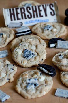 Cookies 'n' Cream Cookies... Holy crap @Maria Canavello Mrasek Canavello Mrasek Canavello Mrasek Villagomez Vader