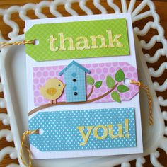 cute - tags and Doodlebug stickers