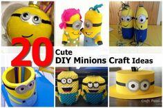 20 Cute DIY Minions Craft Ideas