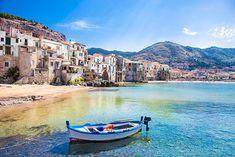 Cefalù, Sicilien (Italien)
