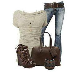 Cute shirt & jeans