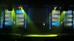 New Stage Design and Lights